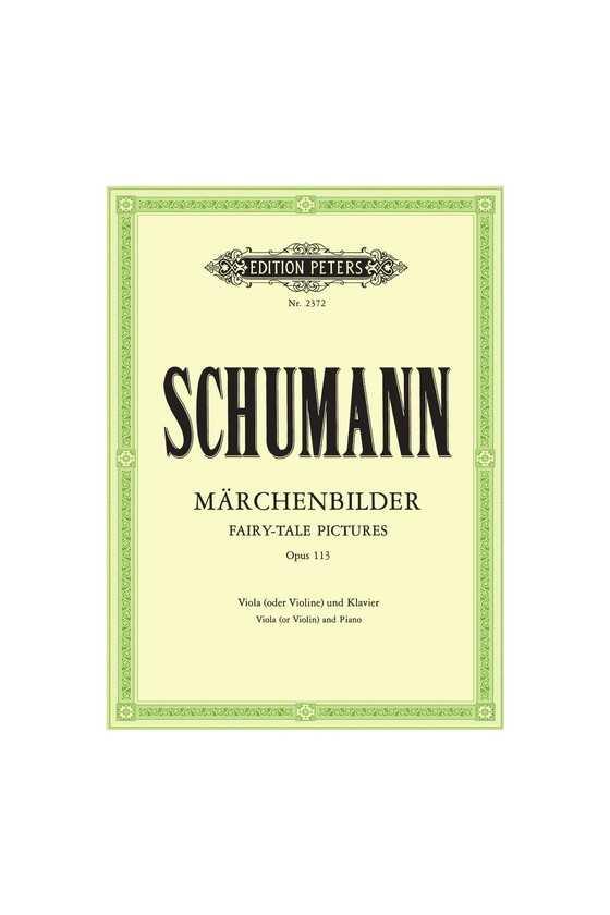 Schumann Marchenbilder For...
