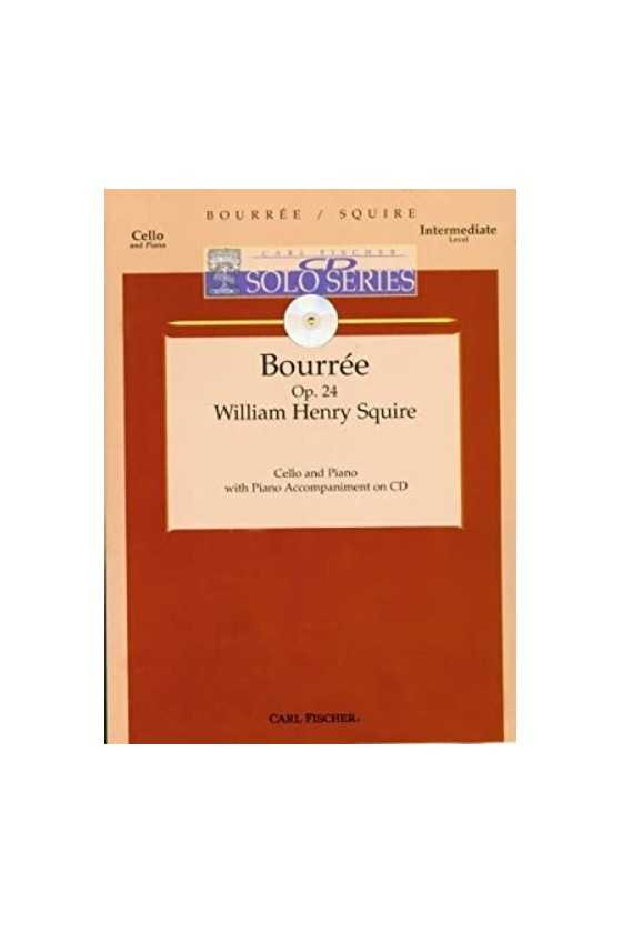 Squire, Bouree for Cello...