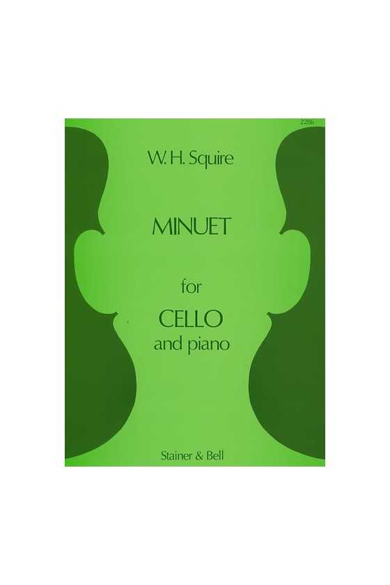 Squire, Minuet for Cello...
