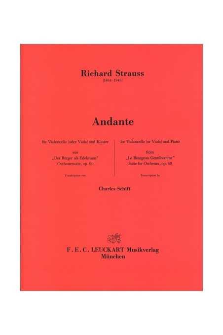 Strauss, Andante For Cello
