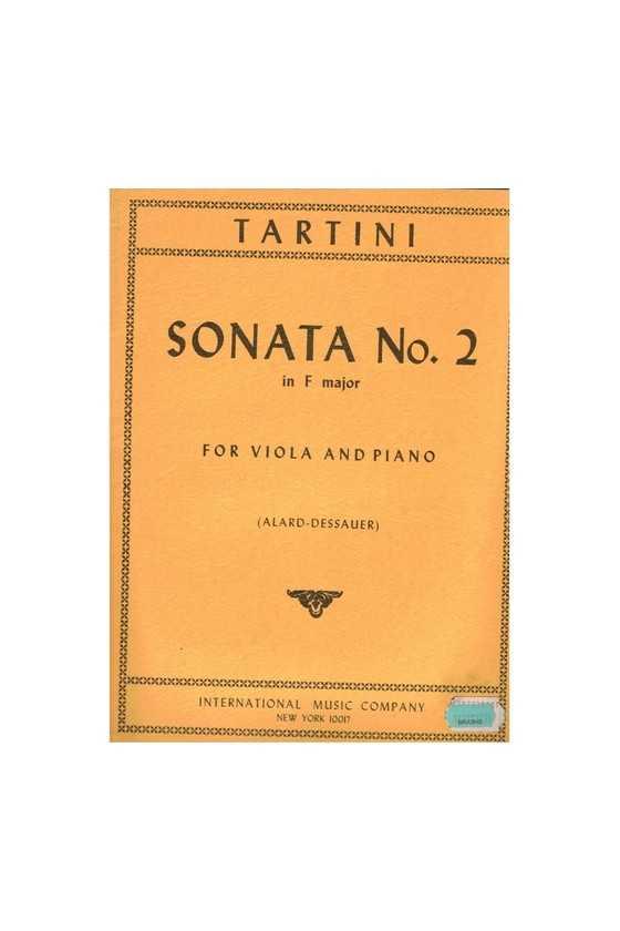 Tartini, Sonata No 2 In F...