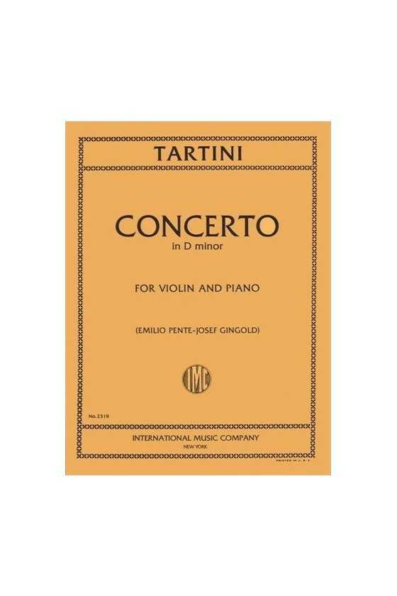 Tartini Concerto In D Min...