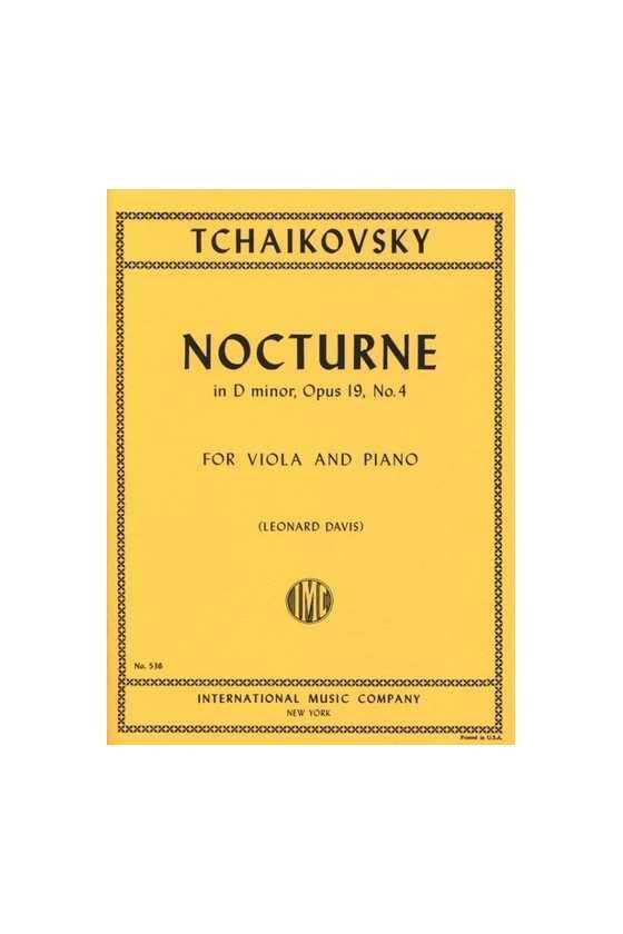 Tchaikovsky, Nocturne In D...