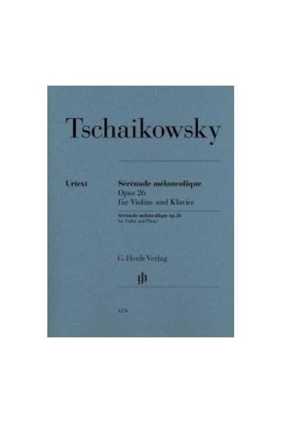 Tschaikowsky Sérénade...