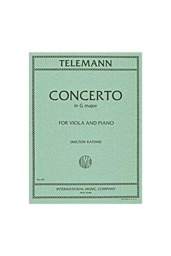 Telemann, Concerto In G For...