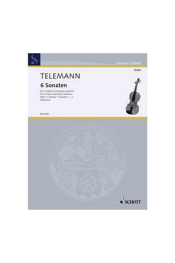 Telemann 6 Sonatas For...