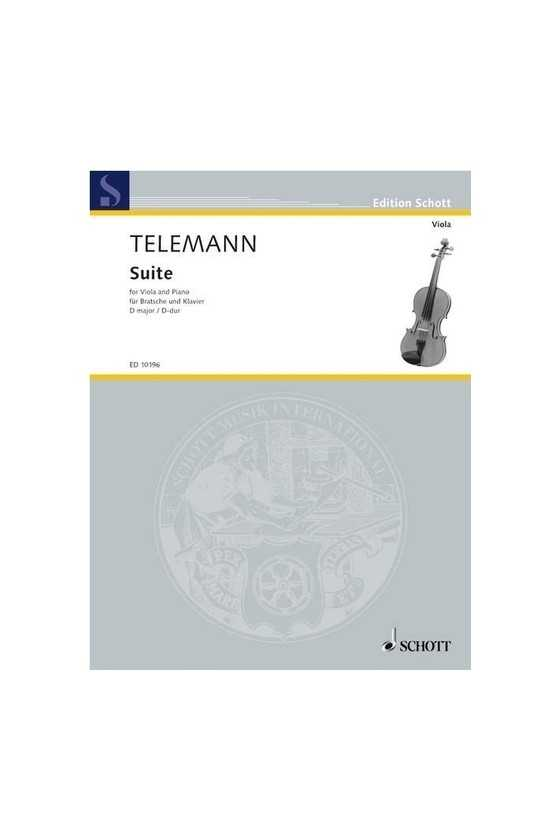 Telemann, Suite In D Major...