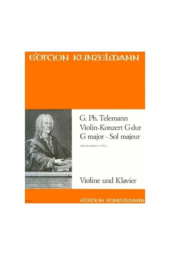 Telemann Concerto In G For...