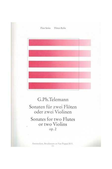 Telemann, Sonatas For Two Violins Op. 2