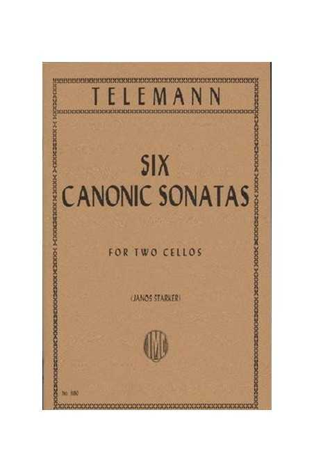 Telemann 6 Canonic Sonatas For 2 Cellos (IMC)