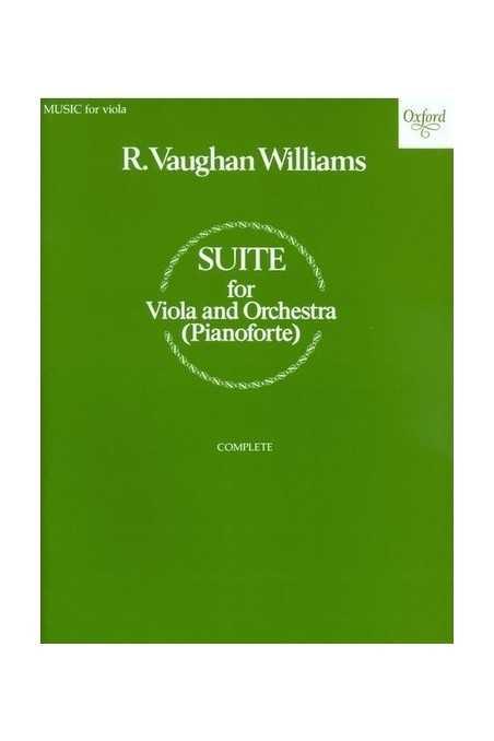 Vaughan Williams, Suite for Viola (Oxford)
