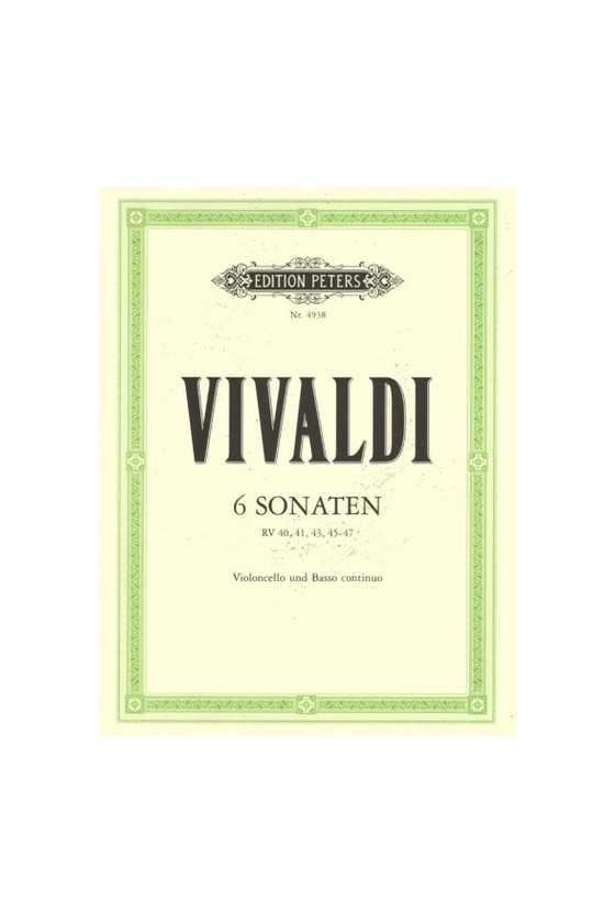 Vivaldi, 6 Sonatas For...