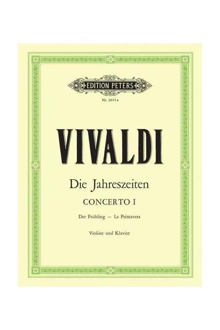 Vivaldi Concerto No. 1 Spring For Violin (Peters)