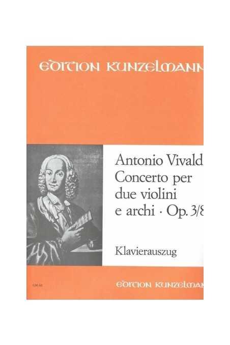 Vivaldi Concerto Op. 3 No. 8 For 2 Violins (Kunzelmann)