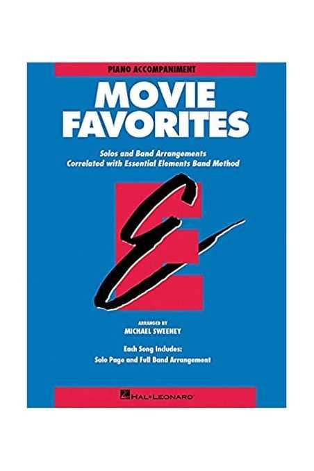 Essential Elements Movie Favourites Piano Accompaniment