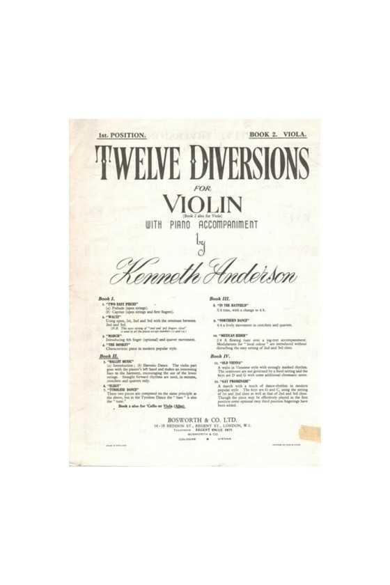 Anderson Twelve Diversions...