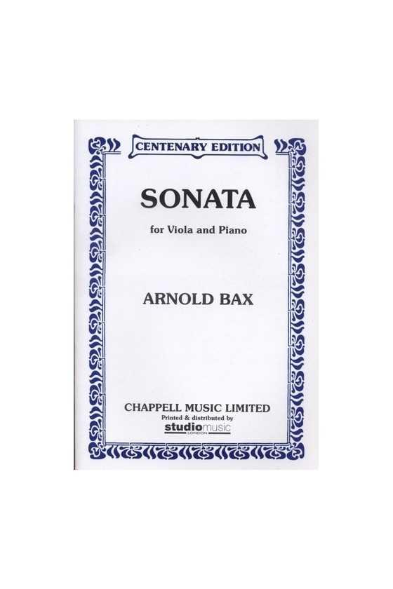 Bax, Sonata For Viola And...
