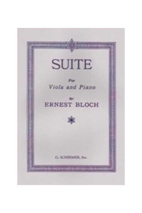 Bloch, Meditation And Processional For Viola (Schirmer)