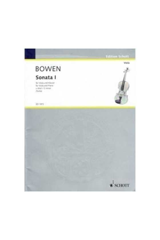 Bowen Sonata 1 for Viola in...
