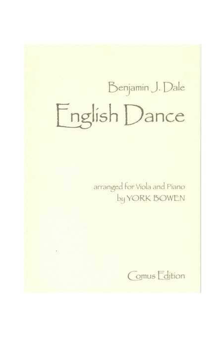 Dale, English Dance arranged for Viola and Piano by York Bowen (Comus)
