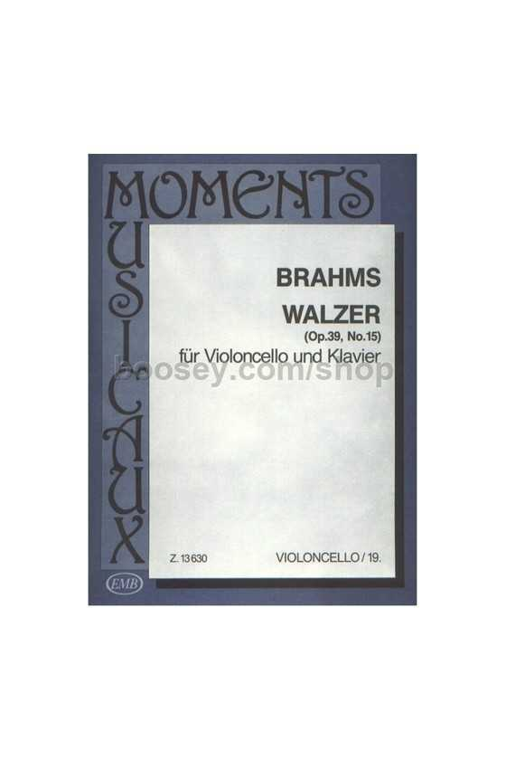 Brahms, Waltz Op. 39 No. 15...