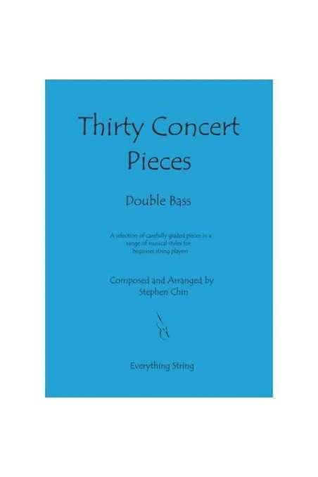 Chin, Thirty Concert Pieces - Bass (Grade 1) With CD