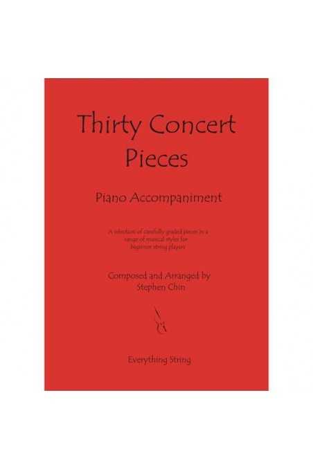 Chin, Thirty Concert Pieces - Piano Acc. With CD Acc.
