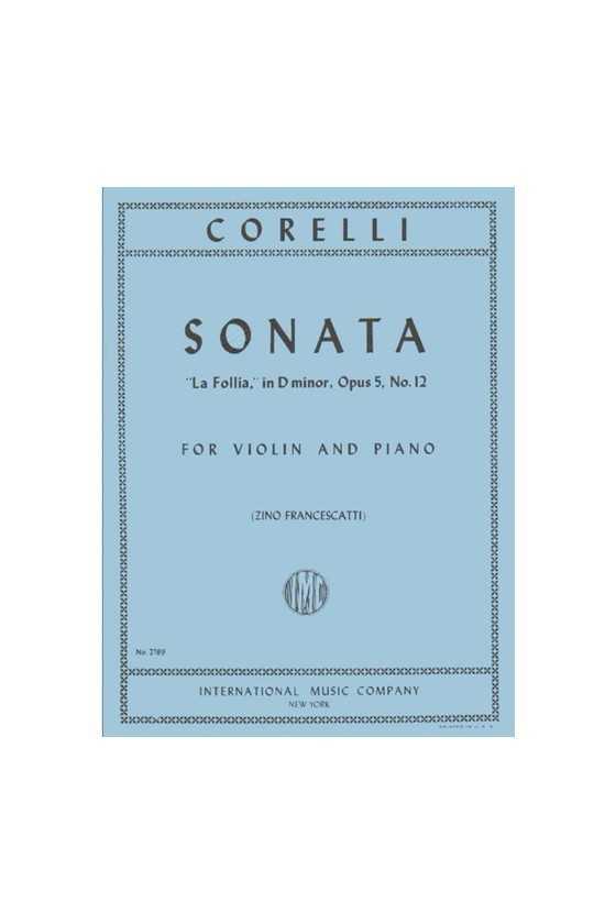 Corelli, Sonata In D Minor,...