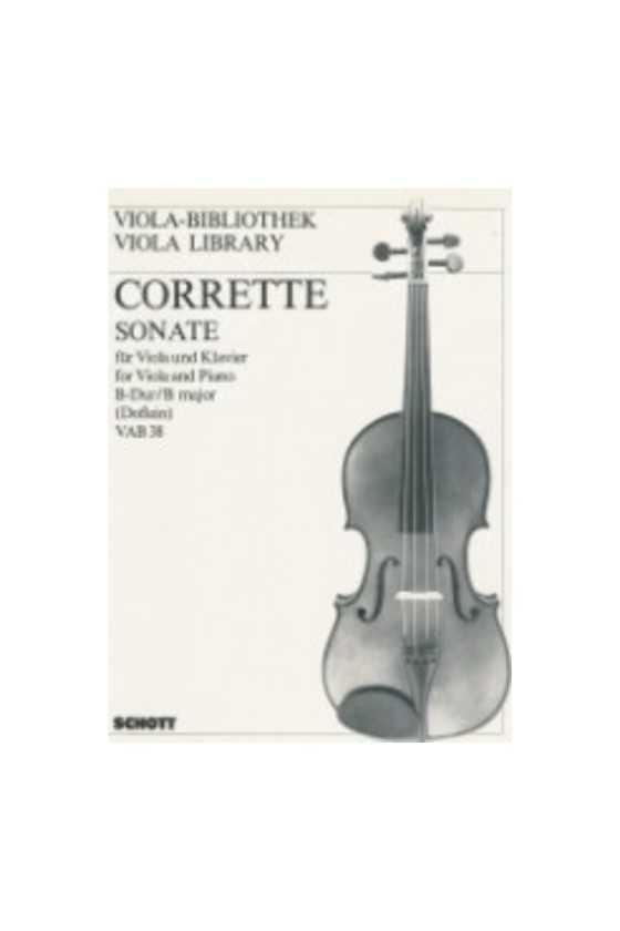 Corrette, Sonata For Viola...