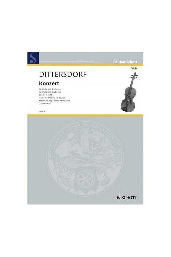 Dittersdorf Concerto For...