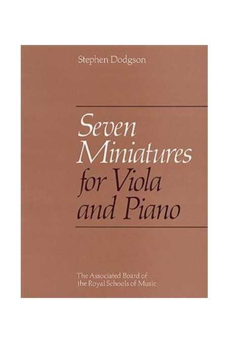 Dodgson, Seven Miniatures For Viola