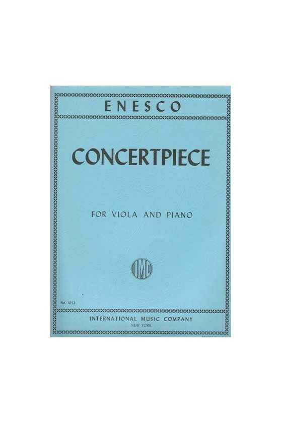 Enesco, Concertpiece for...