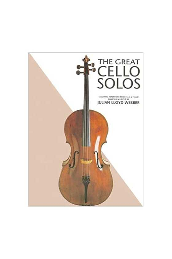 The Great Cello Solos:...