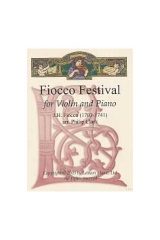 Fiocco Festival For Violin...
