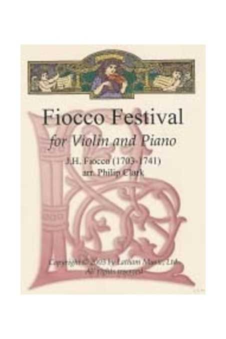 Fiocco Festival For Violin (Latham)