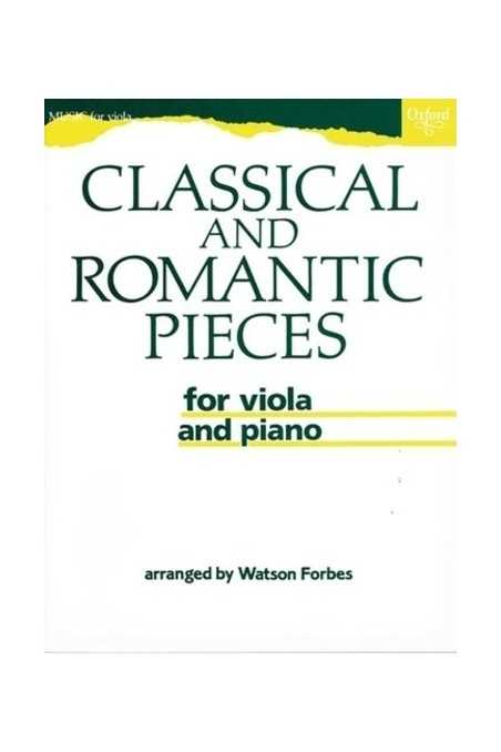 Classical And Romantic Pieces For Viola Arr. Forbes (Oxford)