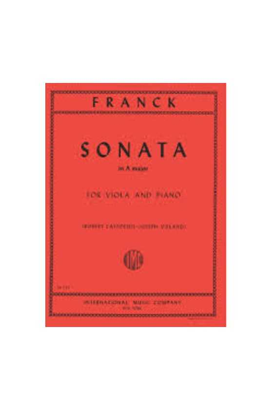 Franck Sonata In A Major...