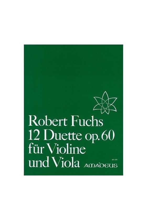 Fuchs, 12 Duets For Violin...