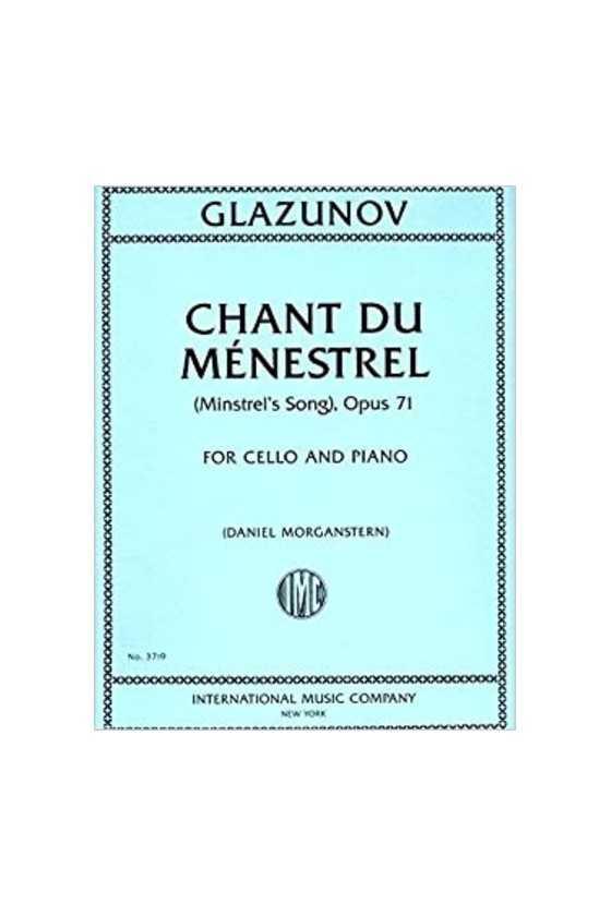Glazunov Chant Du Menestrel...