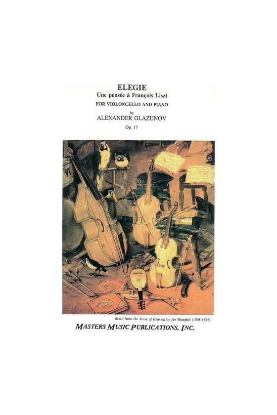 Glazunov Elegie Opus 17 For...
