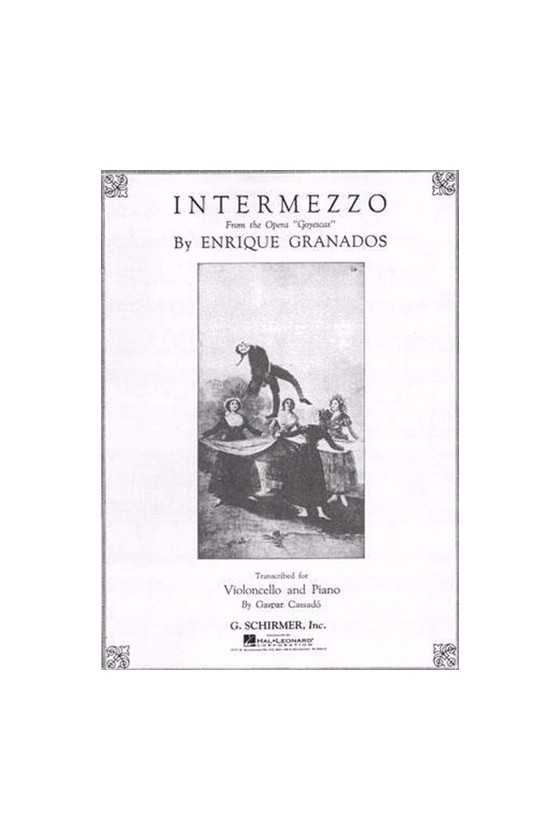 Granados, Intermezzo for...