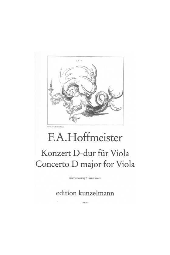 Hoffmeister, Concerto In D...
