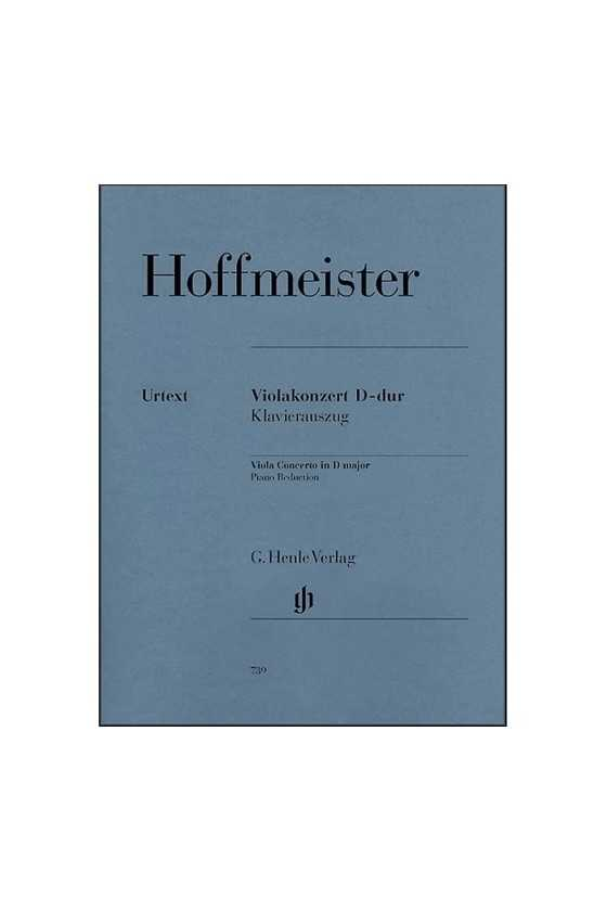 Hoffmeister Concerto In D...