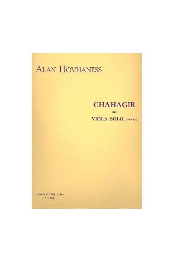 Hovhaness, Chahagir for...