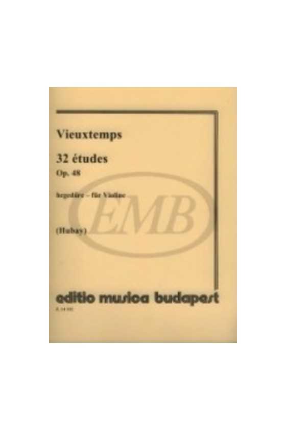 Vieuxtemps 32 Etudes Op. 48...