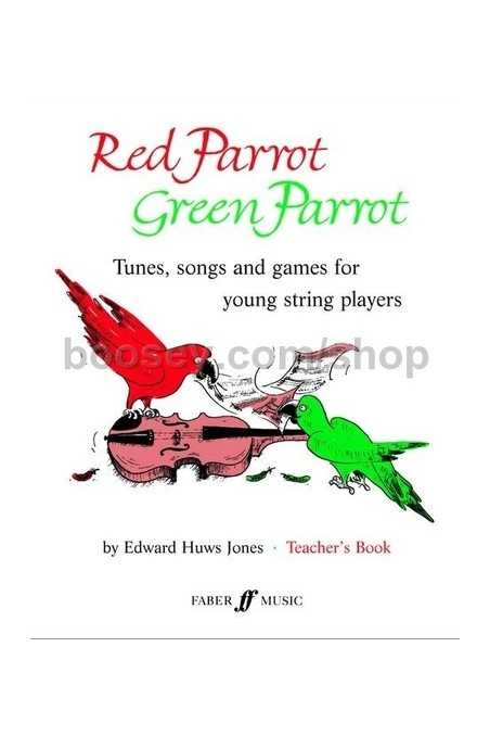 Huws Jones, Red Parrot Green Parrot Teachers Book (Faber)