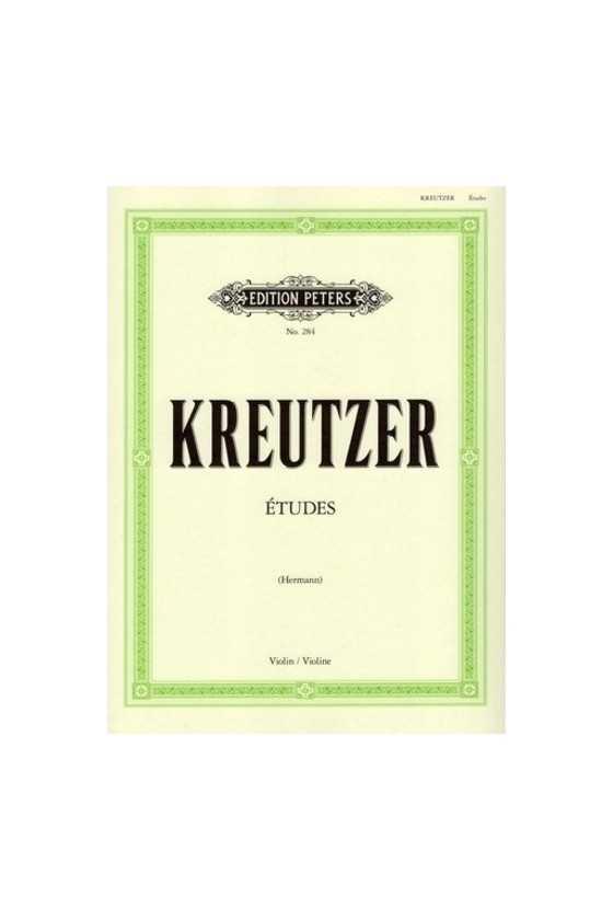 Kreutzer 42 Studies/Etudes...