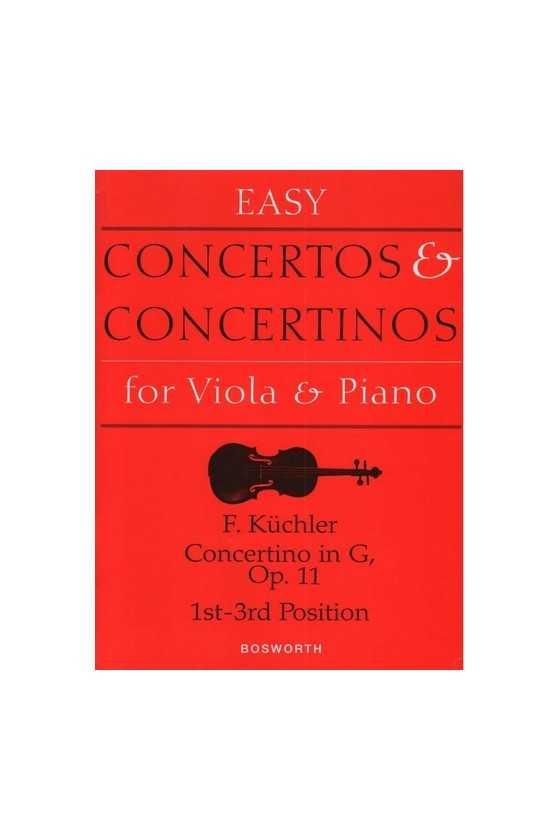 Kuchler, Concertino In G...