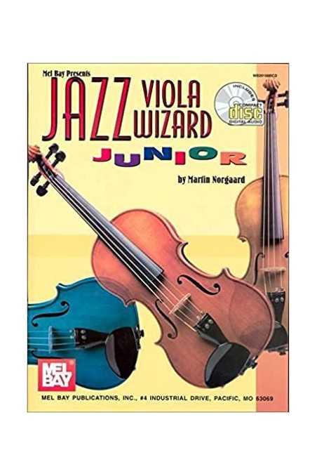 Jazz Viola Wizard Junior (Mel Bay) Incl. CD