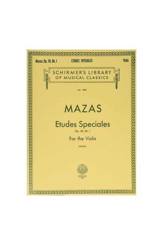 Mazas, Special Studies for...